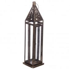 Moroccan Style Lantern - Brushed Gold Medium