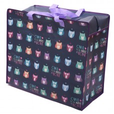 Fun Practical Laundry & Storage Bag - Owl Design