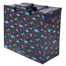 Fun Practical Laundry & Storage Bag - Dinosaur Design