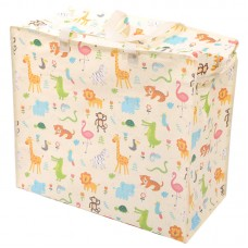 Fun Practical Laundry & Storage Bag - Zoo Design