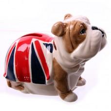 Fun Novelty Ceramic British Bulldog Money Box