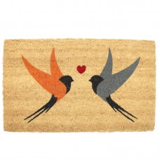 Coir Door Mat - Swallows Design