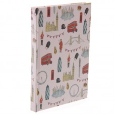 London Landmarks Jan Pashley Design Lined A6 Notebook