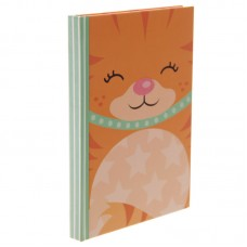 Cute Ginger Kitten Lined A6 Notebook