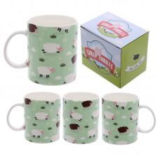 Fun New Bone China Mug - Sheep Design