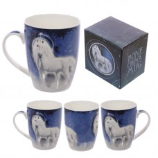 Fantasy Bone China Unicorn Mug
