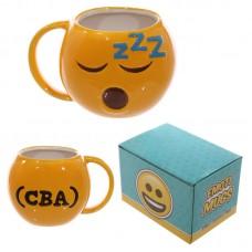 Fun Collectable Ceramic Sleeping Face Emotive Mug