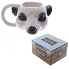 Novelty Ceramic Meerkat Head Ceramic Mug