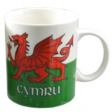 Collectable New Bone China Mug - Wales Welsh Dragon
