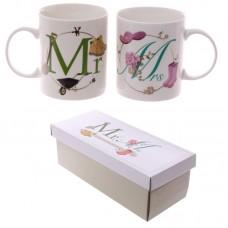 Fun New Bone China Mug - Mr and Mrs Set of 2