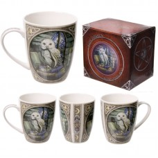 Fantasy Owl Design New Bone China Mug