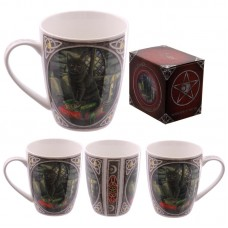 Fantasy Magical Cat Design New Bone China Mug