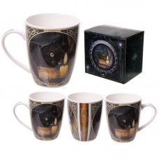 Fantasy Witching Hour Design New Bone China Mug