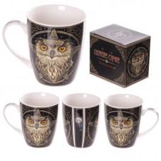 New Bone China Wise Owl Design Mug