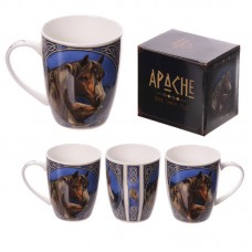 New Bone China Mug - Apache Horse Design