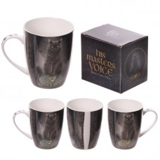 New Bone China Mug - Magical Cat and Ouija Board