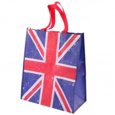 Fun Durable Union Flag Design Shopping Bag