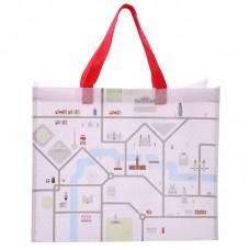 Fun London Map Design Durable Reusable Shopping Bag