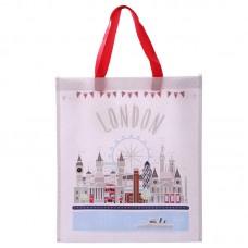 Fun London Icons Design Durable Reusable Shopping Bag