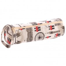 Fun Cotton London Design Fabric Pencil Case