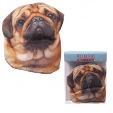 Microwavable Pug Design Heat Pillow