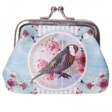 Fun Mini Coin Purse - British Birds Design