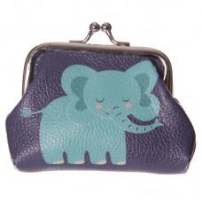 Fun Mini Coin Purse - Cute Zoo Elephant