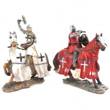 Knight Figurine - Mounted on Horseback