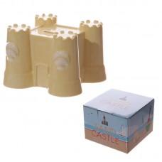 Fun Novelty Ceramic Sand Castle Money Box