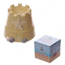 Fun Novelty Ceramic Sand Castle Egg Cup