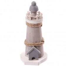 Novelty Seaside Decoration - Lighthouse with Rope