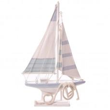 Novelty Seaside Decoration - Boat with Rope