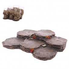 Fantasy Resin Tiered Rock Display Stand