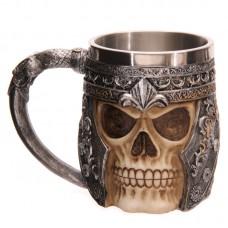 Fantasy Warrior Skull Tankard