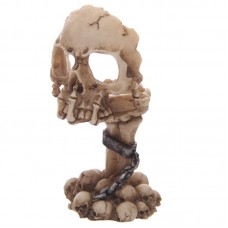 Gruesome Skull and Claw Chained Tealight Holder