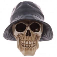 Gruesome Skull Rain Hat Ornament