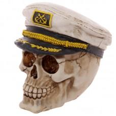 Gruesome Skull Sailor Hat Ornament
