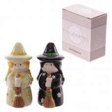 Novelty Magic Themed Witches Salt and Pepper Set