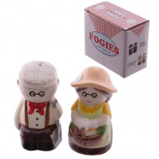 Fun Couples Salt and Pepper Set - Gardening Old Fogies