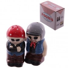 Fun Couples Salt and Pepper Set - Biker Old Fogies