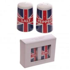 Porcelain Salt and Pepper Set - Union Flag Design