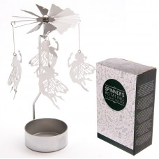Fairy Design Metal Tealight Spinner