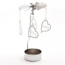 Love Design Metal Tealight Spinner