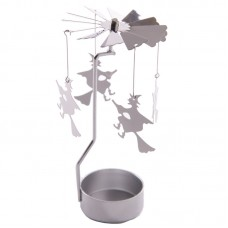 Fantasy Witch Design Metal Tealight Spinner