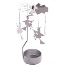 Fantasy Witch Design Metal Tealight Spinner