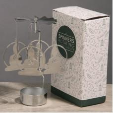 Buddha Design Metal Tealight Spinner