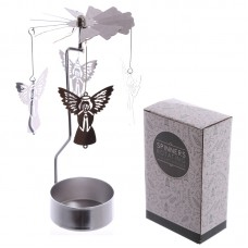 Angel Design Metal Tea Light Spinner
