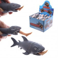 Fun Kids Chompy Shark with Pop Out Surfer Leg Toy