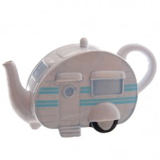 Novelty Ceramic Caravan Teapot