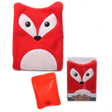 Cute Knitted Hand Warmer - Fox